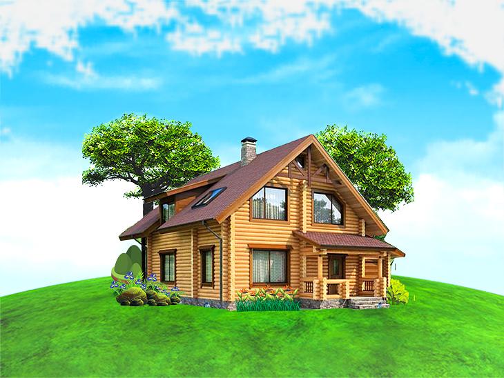 Отделка коттеджей, внутренняя отделка дома